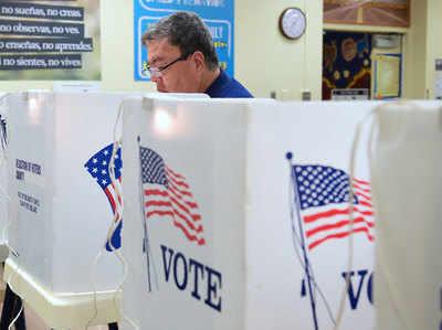 Image result for अमेरिका में मध्यावधि चुनाव के लिए शुरू वोटिंग