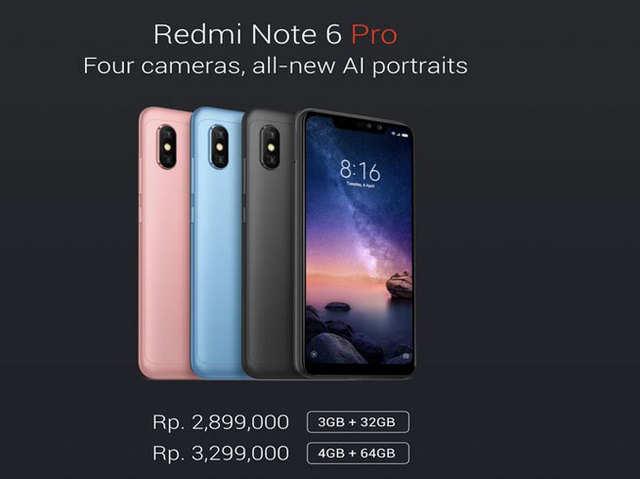 Xiaomi Redmi Note 6 Pro में है चार कैमरे; जानें खूबियां