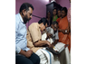 education minister gifted laptop to karthyani amma