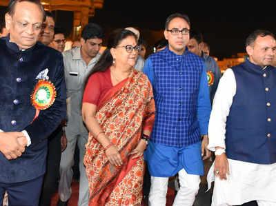 वसुंधरा राजे व अन्य नेता (फाइल फोटो)
