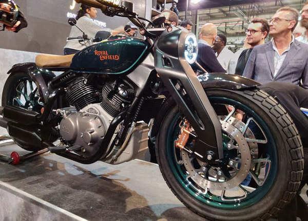 रॉयल एनफील्ड ने पेश की Concept KX