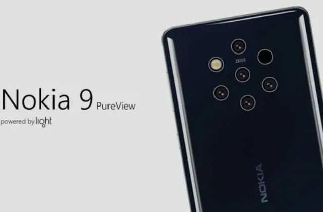 Nokia 9 PureView 'Olympic' में है पांच रियर कैमरे