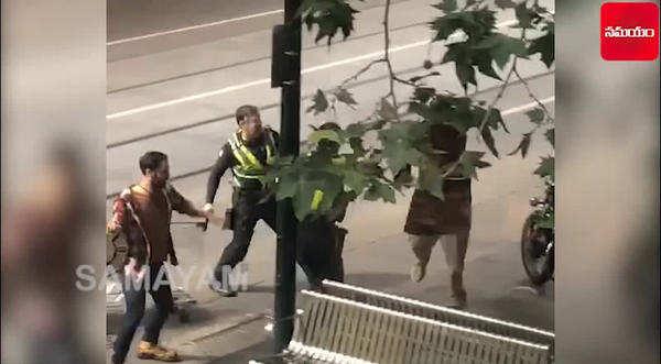 on cam terrorist stabbing attack in melbourne