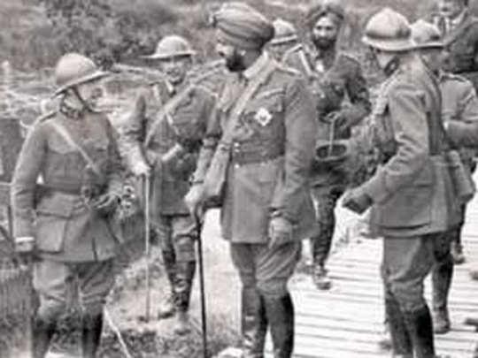WW1: ७४,००० भारतीय सैनिकांना इंग्लंडने दिली आदरांजली