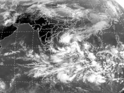 Image result for यहाँ दस्तक दे सकता है गाजा तूफान, हाई अलर्ट