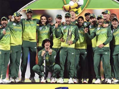 सीरीज जीतने के बाद साउथ अफ्रीकी टीम