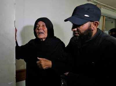 मारे गए हमास कमांडर नूर बराका की मां