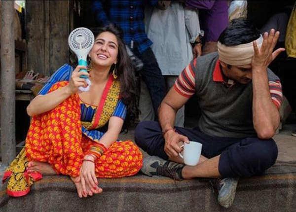 सारा सुशांत सिंह राजपूत के साथ रोमांस