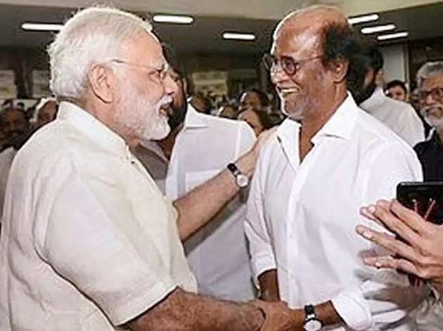 पीएम मोदी और रजनीकांत (फाइल फोटो)