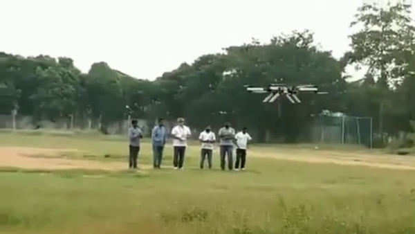 first ever indias drone taxi for passengers made by ajiths daksha team