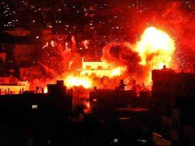 गाजा में इजरायल और हमास चरमपंथियों में भीषण लड़ाई जारी