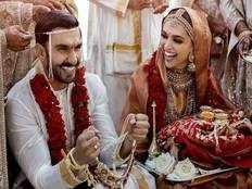 deepika padukone ranveer singh wedding pictures getabout four lakh llike in ten minutes