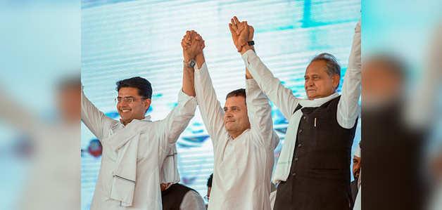 राजस्थान चुनाव: कांग्रेस ने जारी की 152 उम्मीदवारों की पहली लिस्ट