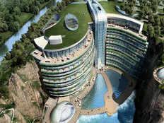 worlds first underground hotel in china