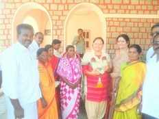 daughter of french woman is gram panchayat president of a village in karnataka