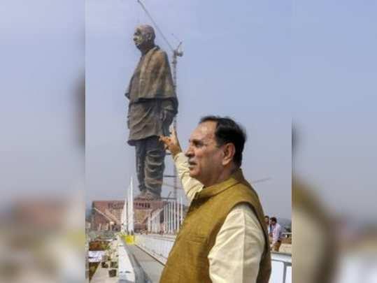 Kevadiya: Gujarat chief minister Vijay Rupani inspects as final touches are give...