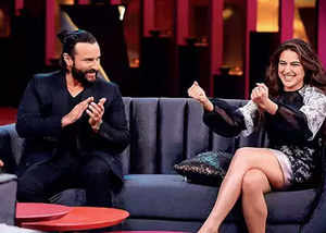 koffee with karan sara ali khan decided to become actor at the age of four