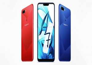 oppo a7 with waterdrop notch display 4230mah battery launched in china