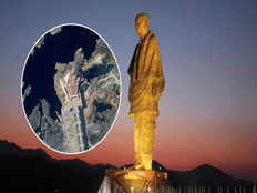 indias statue of unity is so big you can see it from space