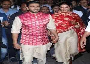 deepika padukone and ranveer singh reached mumbai