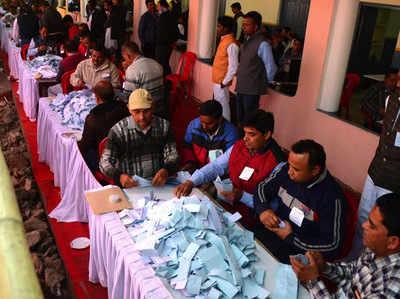 Image result for उत्तराखंड-1148 पदों के लिए हुए मतदान की मंगलवार को हो रही है गिनती