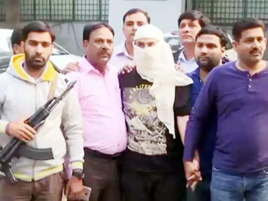 दिल्लीत हिजबुलच्या दहशतवाद्याला अटक