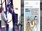 केजरीवाल पर हमले को AAP ने गांधी की हत्या से जोड़ा