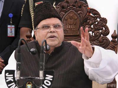 J&K: सियासी हलचल के बीच गवर्नर सत्यपाल मलिक ने भंग की विधानसभा
