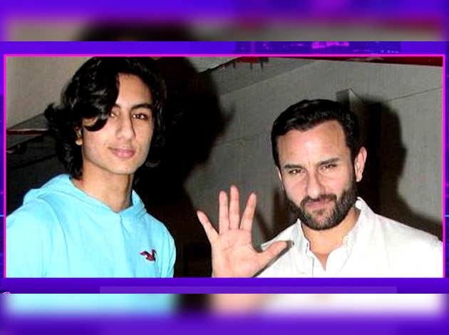 इब्राहिम अली खान के बॉलीवुड डेब्यू पर बोले सैफ