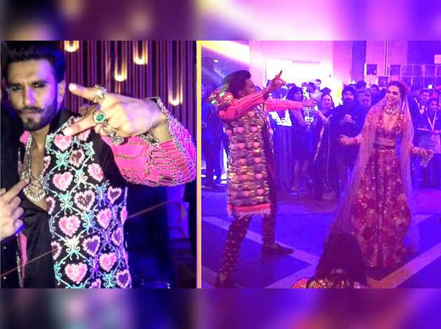 देखें, रणवीर-दीपिका की शादी की इनसाइड वीडियोस