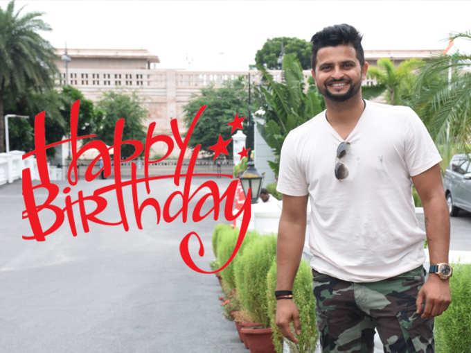 Suresh Raina Birthday :T-२०मध्ये शतक ठोकणारा पहिला खेळाडू