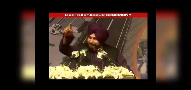 करतारपुर कॉरिडोर: नवजोत सिद्धू ने इमरान खान की तारीफ की