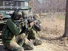 encounter breaks out between security forces and terrorists in khrew area of pulwama jammu and kashmir