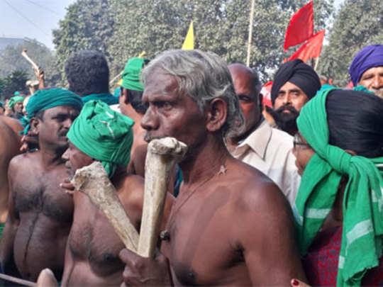 Farmers march in Delhi: शेतकऱ्यांच्या मोर्चाला सुरुवात; दुपारपर्यंत संसदेवर धडकणार