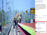 times fact check team has found the picture of elephants crossing railway line is not fake