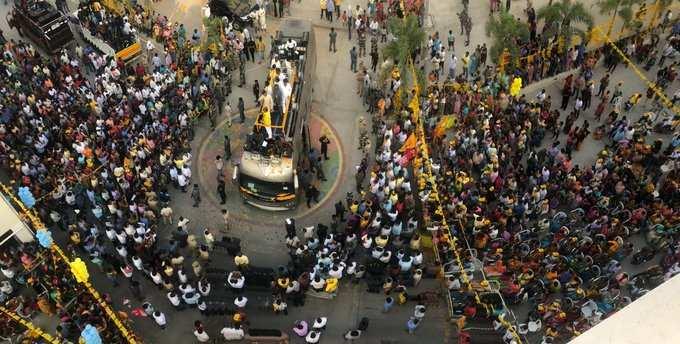 'మీ వల్లే మేమున్నాం..' చంద్రబాబుకు జన నీరాజనం!