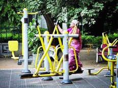 open gym in noidas 15 villages
