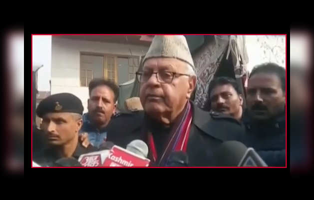 पीओके पाकिस्तान का हिस्सा, जम्मू-कश्मीर भारत का: फारूक अब्दुल्ला