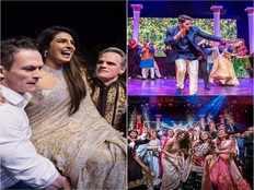 actress priyanka chopra nick jonas sangeet ceremony photos