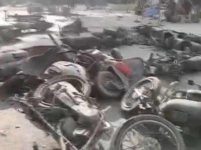 उत्तर प्रदेश: बुलंदशहर में गोहत्या के शक में भड़की हिंसा, इंस्पेक्टर की मौत