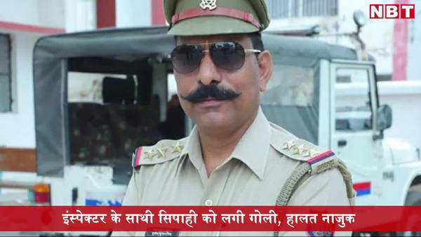 tension in bulandshahr police inspector dies in firing suspected