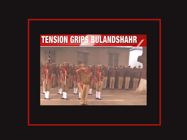 violence tension grips bulandshahr 2 including cop dead in protest over illegal slaughterhouse