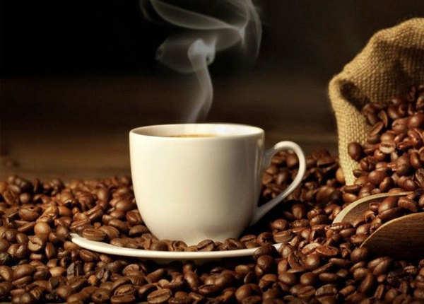 अत्यधिक गर्म कॉफी