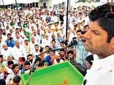 hisar mp dushyant chautala criticized bjp in a rally