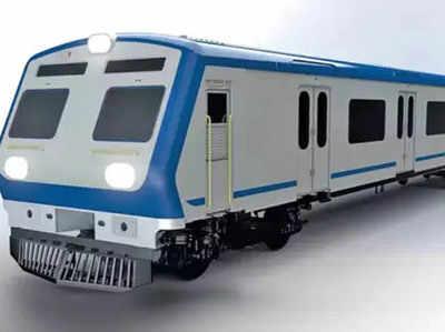 सेकंड एसी लोकल का मॉडल