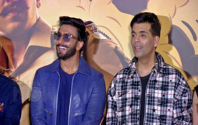 'सिम्बा' ट्रेलर लॉन्च पर फैन ने रणवीर सिंह को दिखाया 'दीपवीर' का टैटू