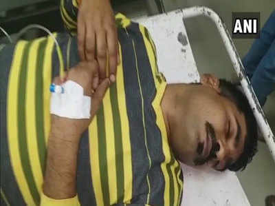 अस्पताल में भर्ती बदमाश अनिल