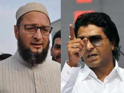असदुद्दीन ओवैसी और राज ठाकरे के बीच जुबानी जंग