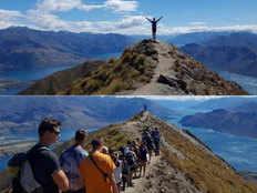 roys peak behind screen photos getting viral