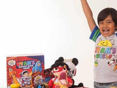 7 साल के बच्चे ने यूट्यूब से कमाए 155 करोड़ रुपये